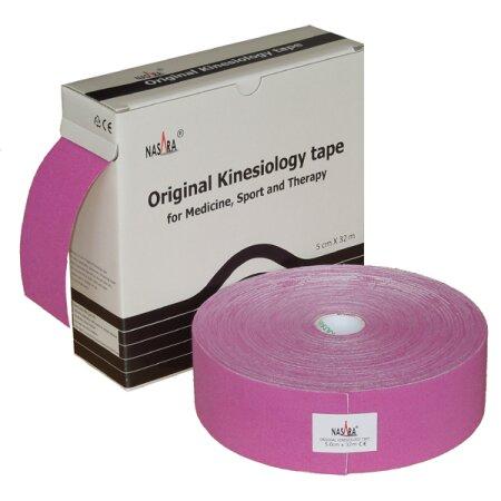 Original Nasara® Kinesiology Tape XXL, 5cm x 32m, lila
