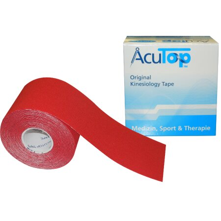 Tape AcuTop Kinesiology , rot