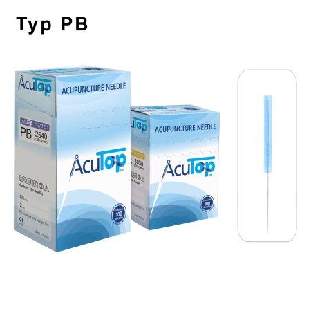 Akupunkturnadeln AcuTop Typ PB  0,20 x 15mm