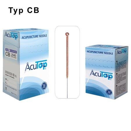 Akupunkturnadeln AcuTop , Typ CB  0,25 x 40mm