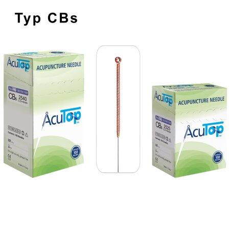 Akupunkturnadeln AcuTop , Typ CBs 0,25 x 25mm