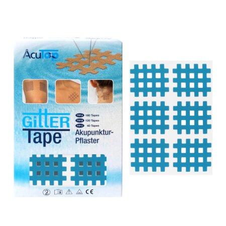Gittertape AcuTop blau Typ B, 120 Stück
