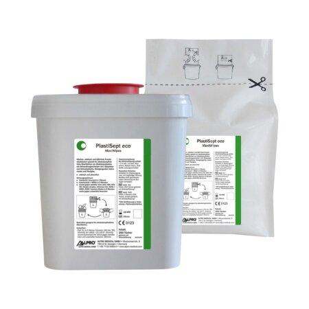 Desinfektionstücher PlastiSept eco MaxiWipes 4x250...