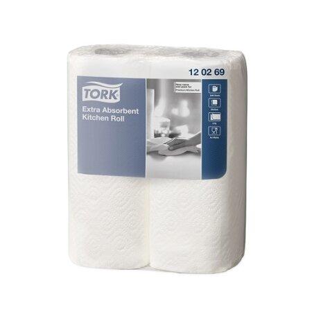 Küchenrolle Premium Tork weiß 2-lagig 23 x 24cm