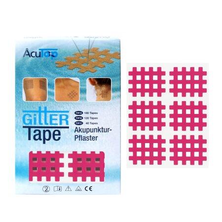 Gittertape AcuTop pink Typ B
