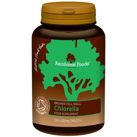 Rainforest Foods Organic Chlorella Tableten 300 x 500 mg