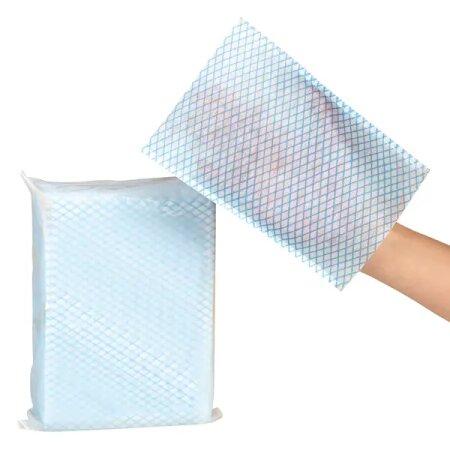 Handschuhe Wasch Einweg aus Faservlies/ 15 x 23 cm