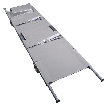 Krankentrage Aluminium nach DIN 13024 mit 4...