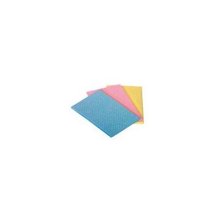 Schwammtücher in 4 verschiedenen Farben
