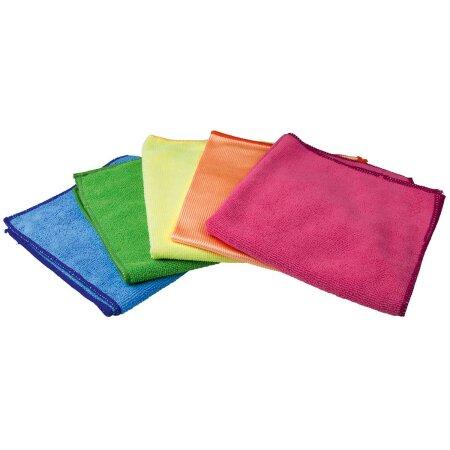 Mikrofasertücher in 4 Farben