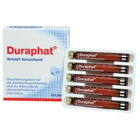 Lack Fluoridierung Duraphat Tube+Dose