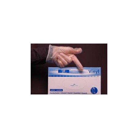 Handschuhe Vinyl Premium puderfrei transparent weiß...