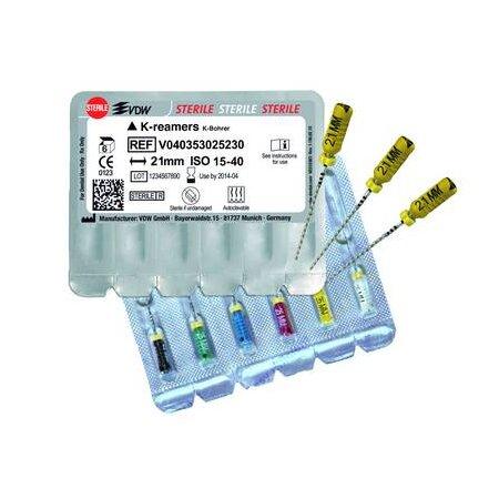 Reamer WK-Bohrer 353 21mm ISO 15-40 steril
