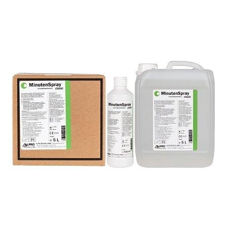 Schnelldesinfektion Minuten Spray Classic 0,5-5 l