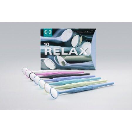 Mundspiegel Relax FS Rhodium Gr.5 plan