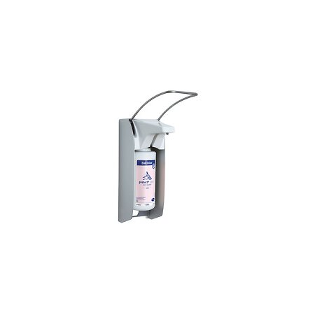 Spender Euro Bode 1 plus weiß - kurzer Armhebel für 350/500ml Flaschen