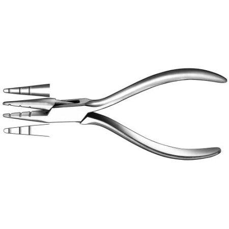 Zange Drahtbiege Aderer 14 cm